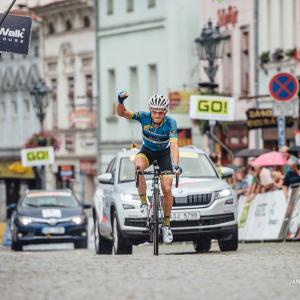 Riccardo Zoidl vyhrál druhou etapu a jde do žlutého / Zoidl wins second stage and is yellow jersey