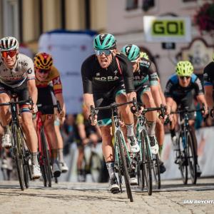 Na Czech Tour do žlutého Impey / Archbold wins in Frýdek-Místek