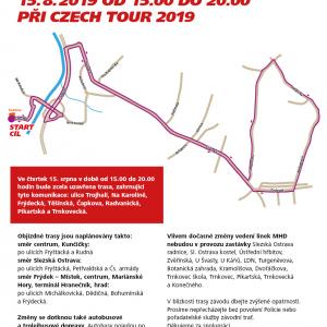 Krátkodobé dopravní omezení v Ostravě