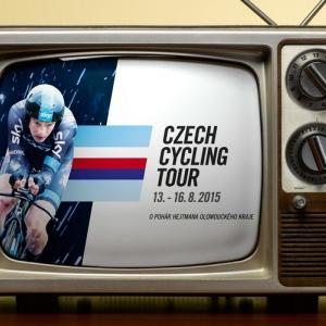 Přímý přenos Czech Cycling Tour na ČT / Live broadcast info